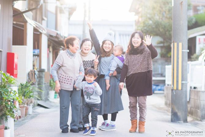 ウェディングフォトは家族写真の原点