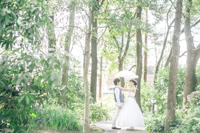 名古屋で結婚式の前撮り