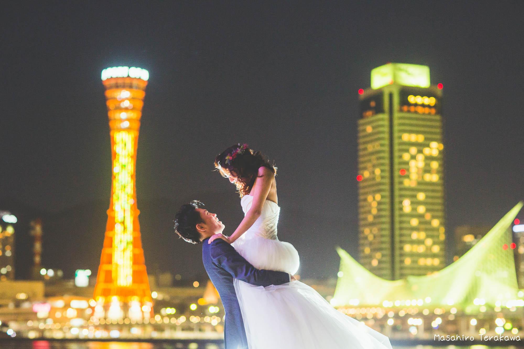 ニューヨークで結婚式を撮影したカップルと再会 結婚式写真 前撮り