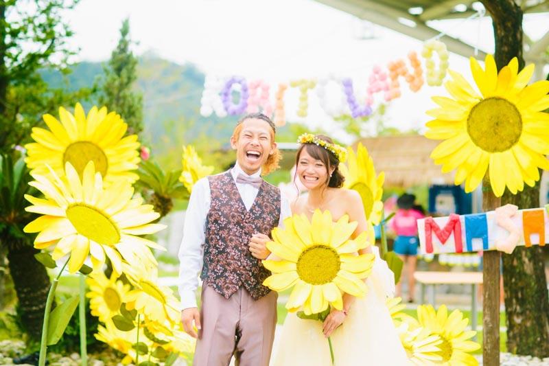結婚式のカメラマンと顔の見える関係を」