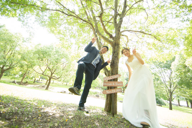 大阪結婚式前撮り
