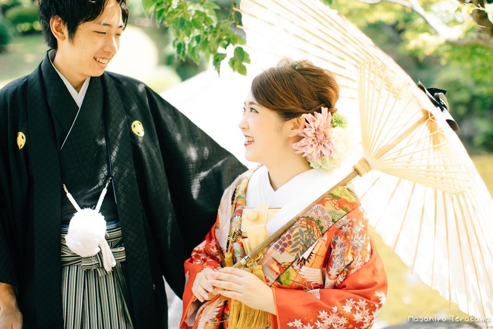 滋賀で結婚式のロケーション前撮り7