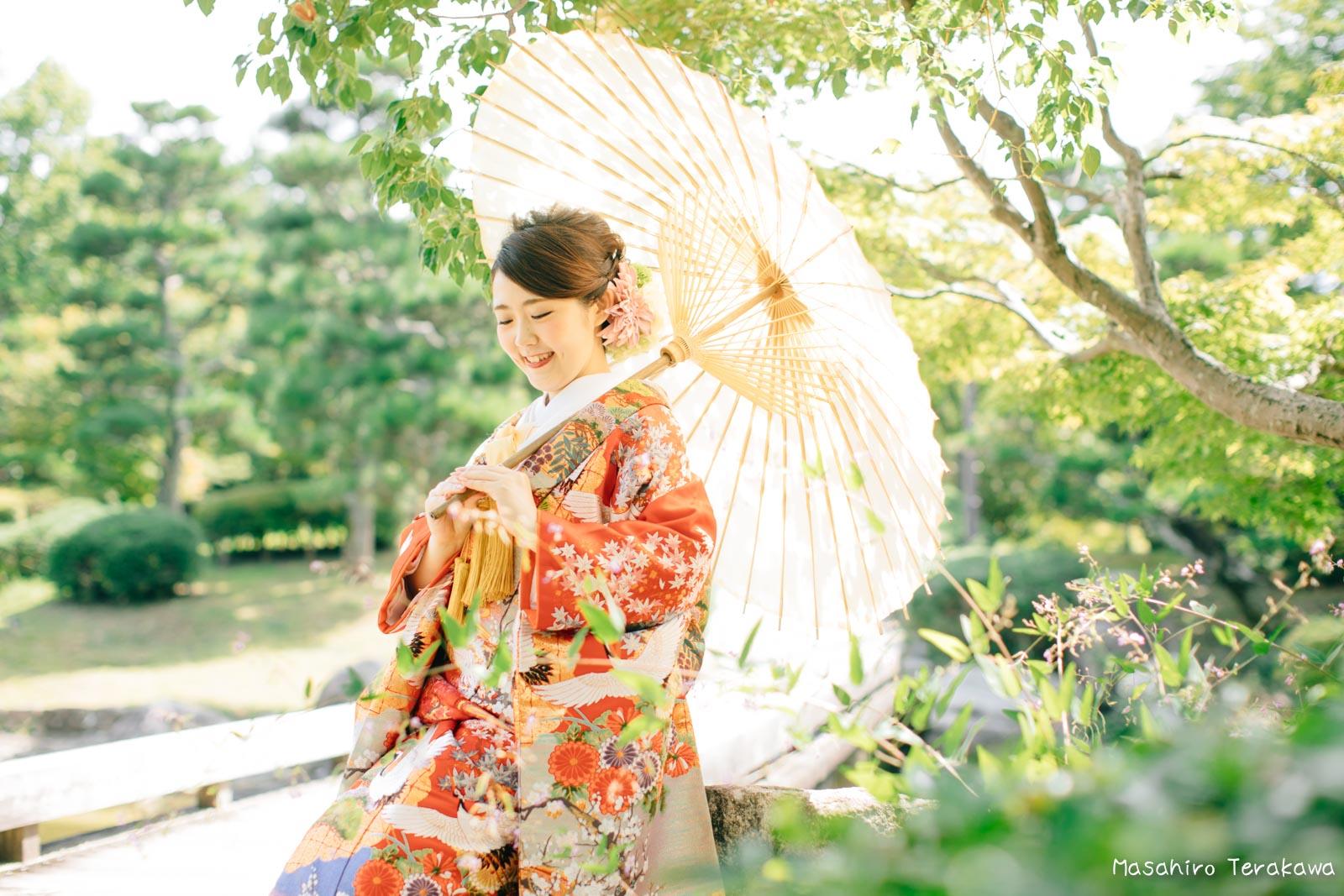 滋賀で結婚式のロケーション前撮り8
