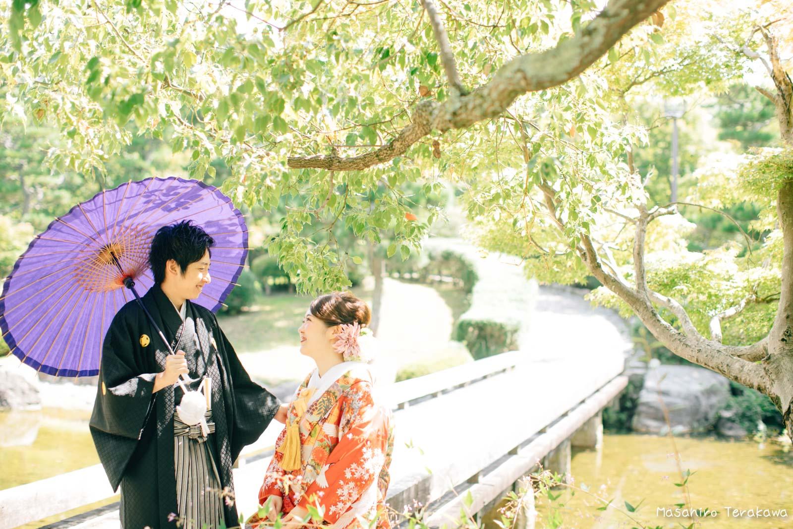 滋賀で結婚式のロケーション前撮り5