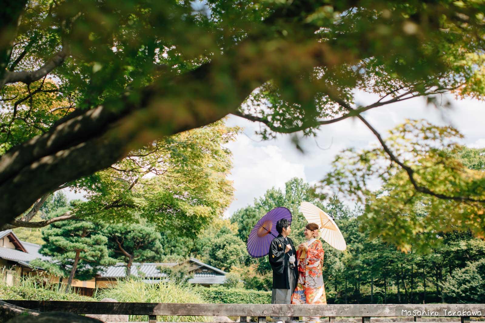 滋賀で結婚式のロケーション前撮り10