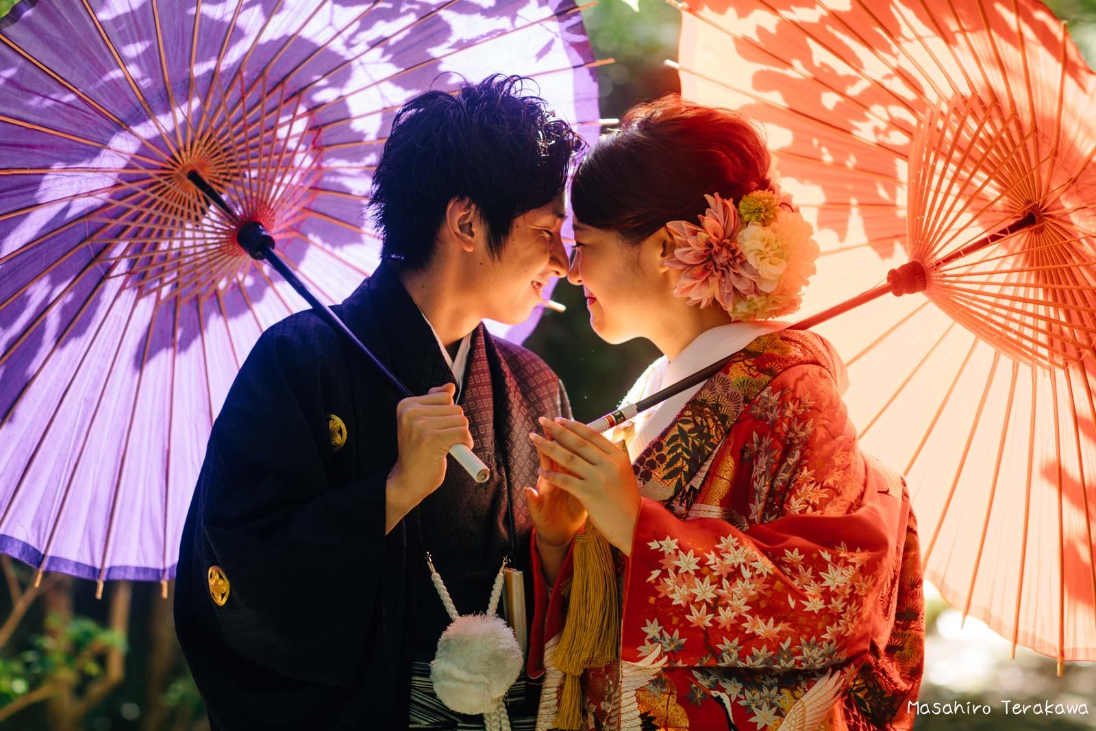 滋賀で結婚式のロケーション前撮り1