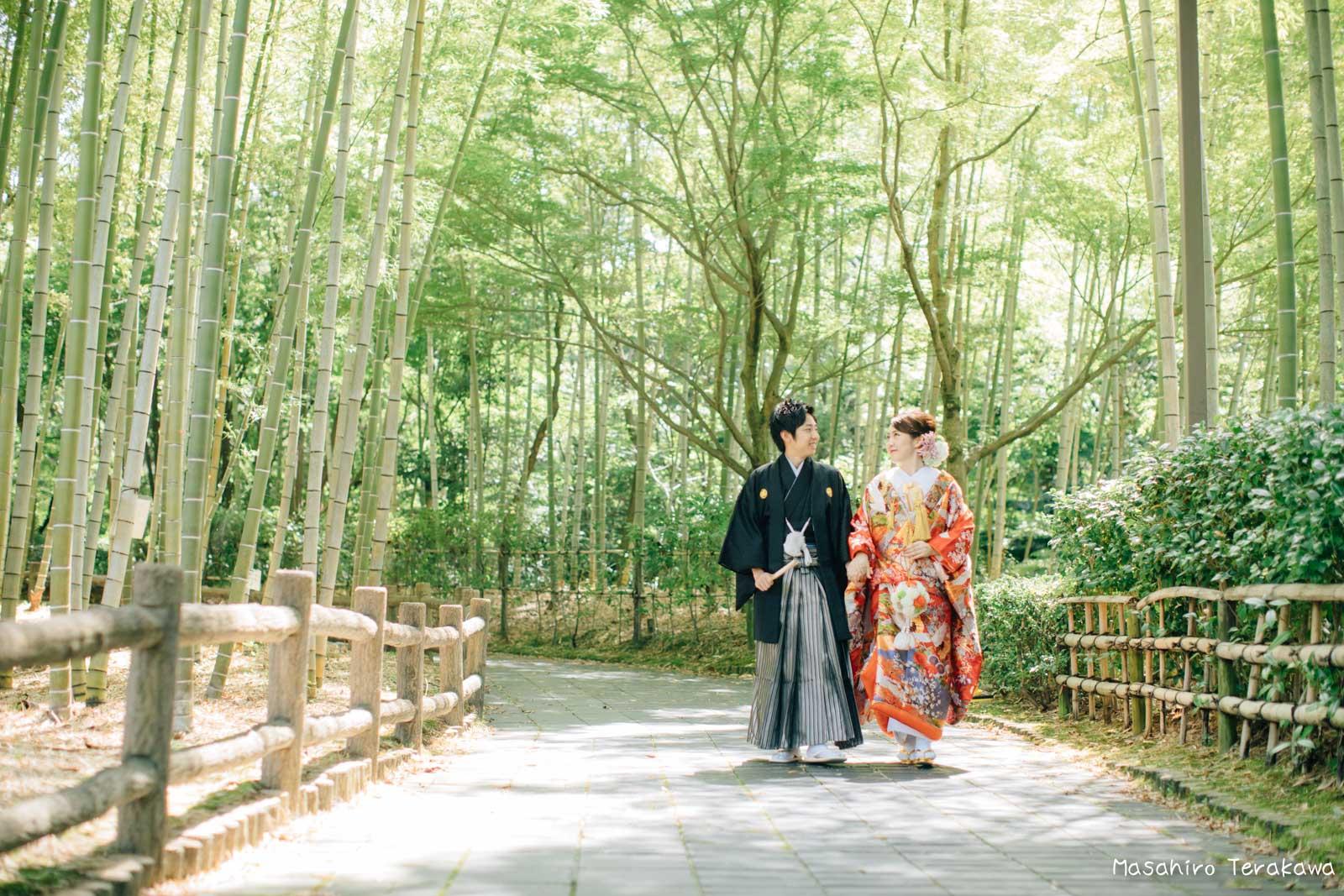 滋賀で結婚式のロケーション前撮り12