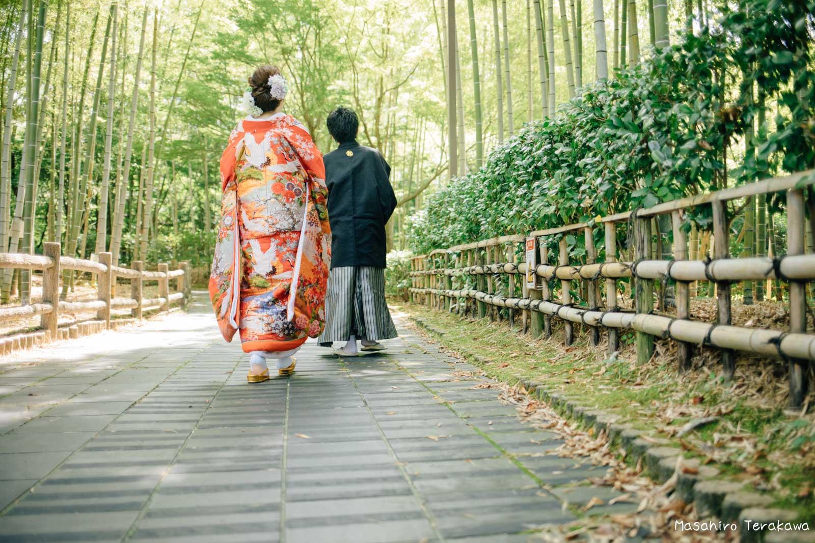 滋賀で結婚式のロケーション前撮り11