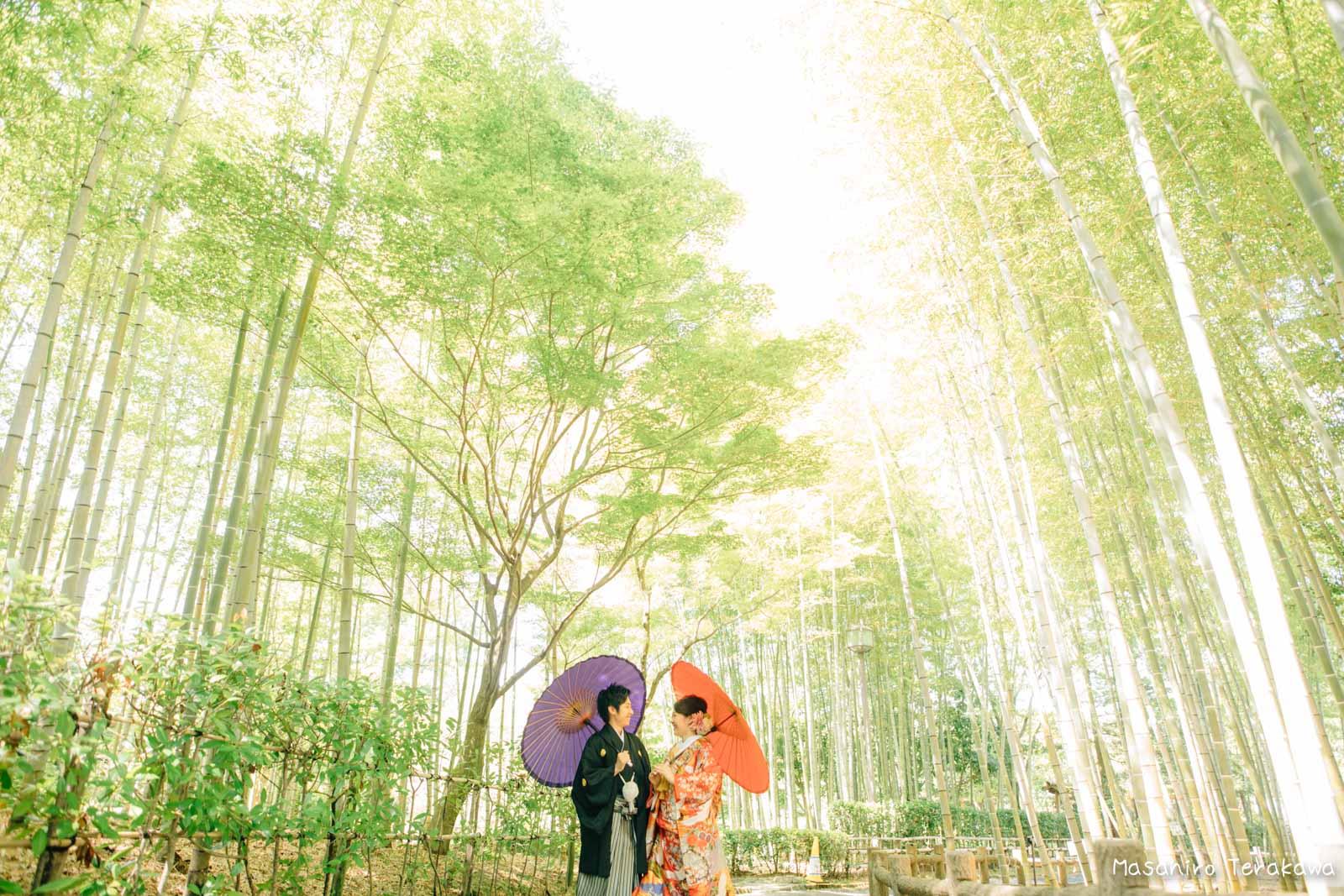 滋賀で結婚式のロケーション前撮り2