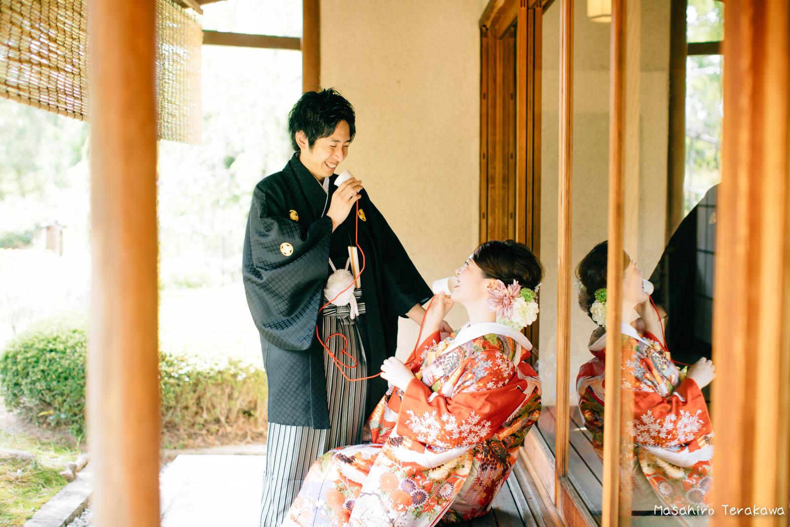 滋賀で結婚式のロケーション前撮り16
