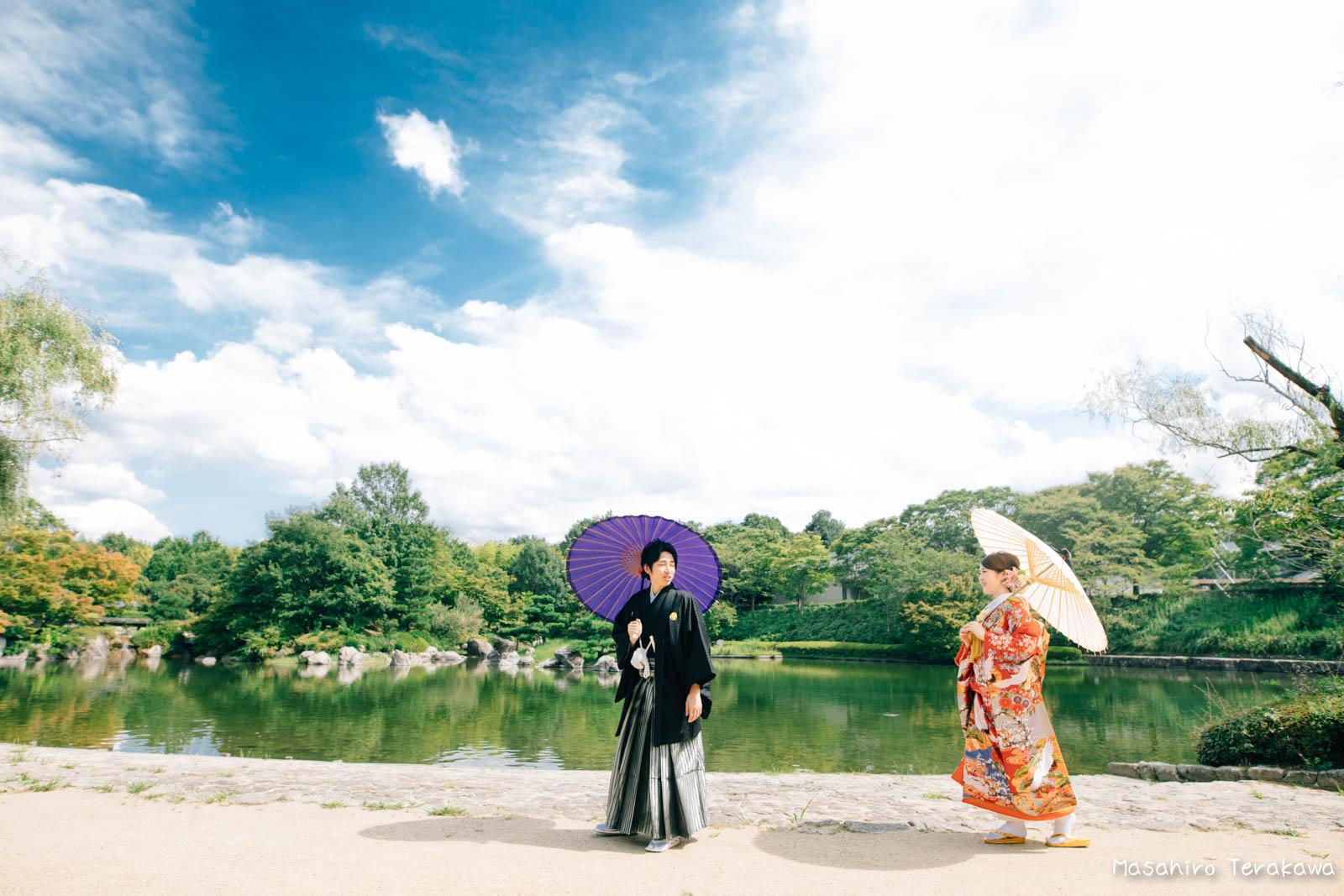 滋賀で結婚式のロケーション前撮り14