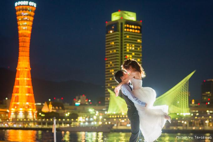 神戸前撮り(結婚写真)
