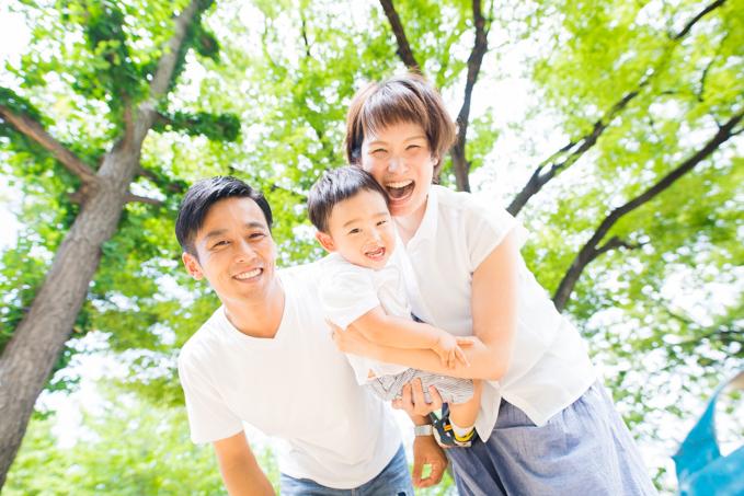 大阪、堺で毎年撮っているご家族と