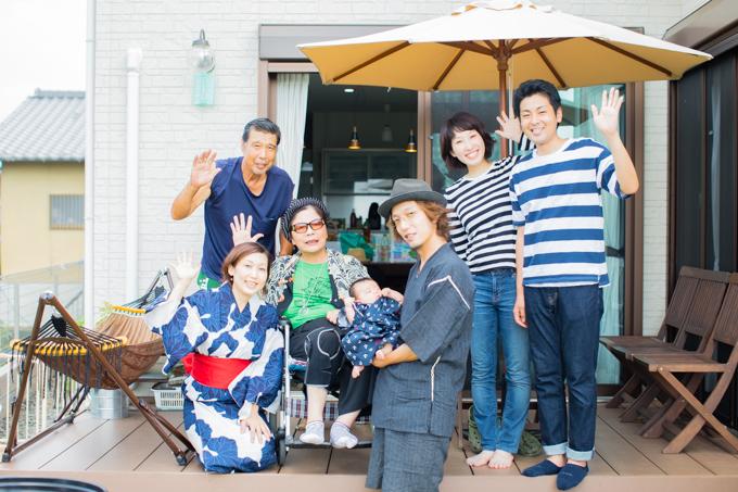 奈良県生駒市へ家族写真とマタニティフォトの撮影