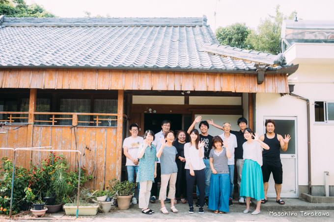 和歌山県で家族写真の撮影