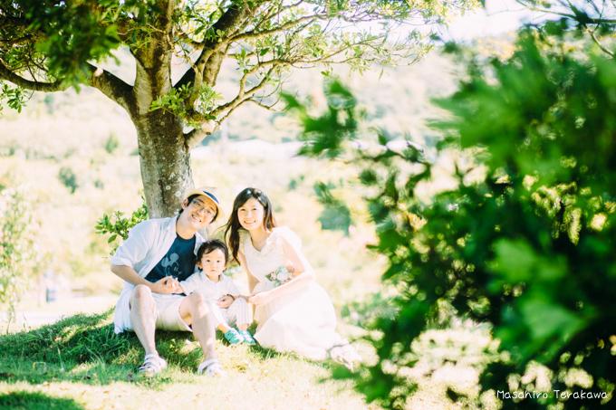 和歌山県で結婚式の二次会を撮影した家族と子供の写真撮影