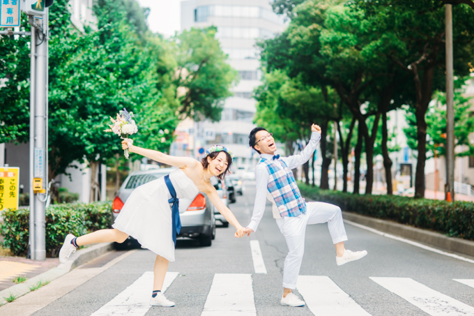 神戸で結婚式の前撮り