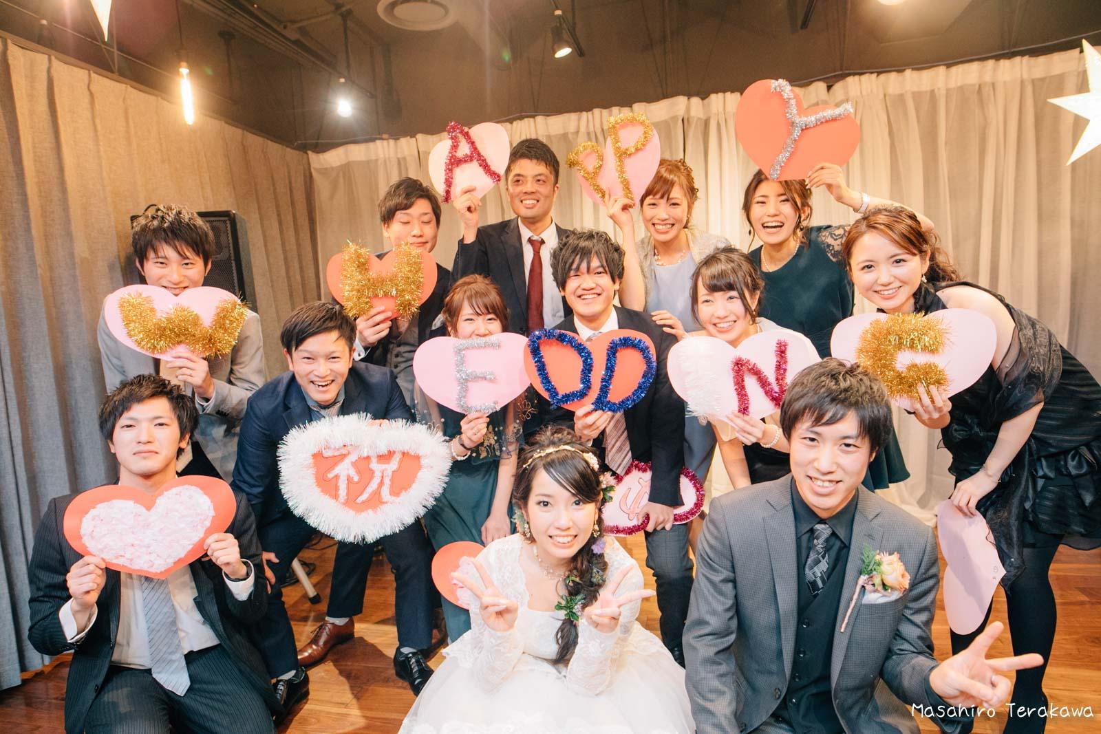 神戸で結婚式の二次会の写真撮影33