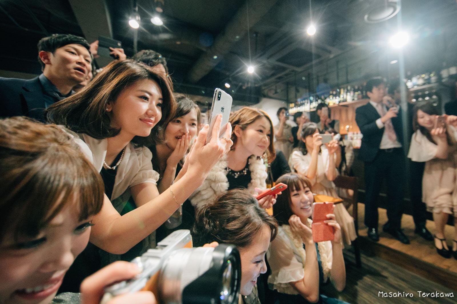 神戸で結婚式の二次会の写真撮影18