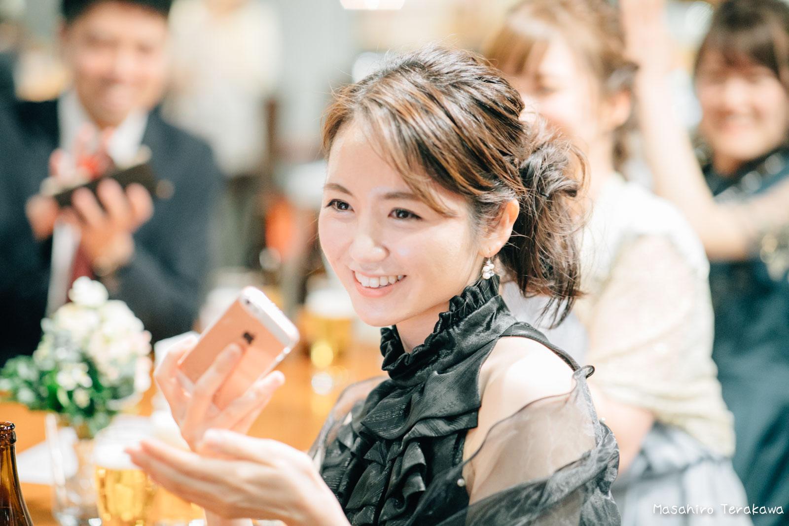 神戸で結婚式の二次会の写真撮影14