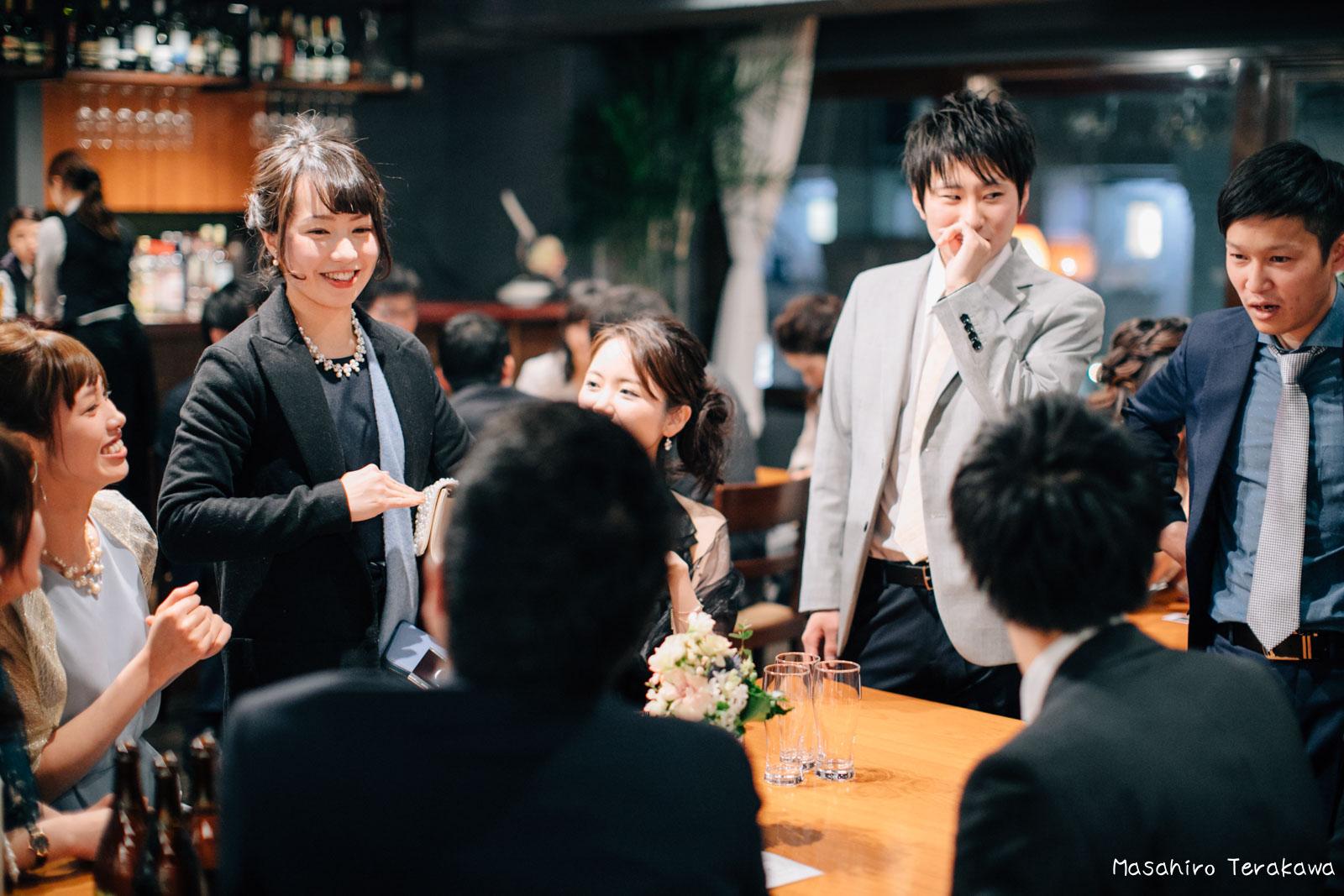 神戸で結婚式の二次会の写真撮影8