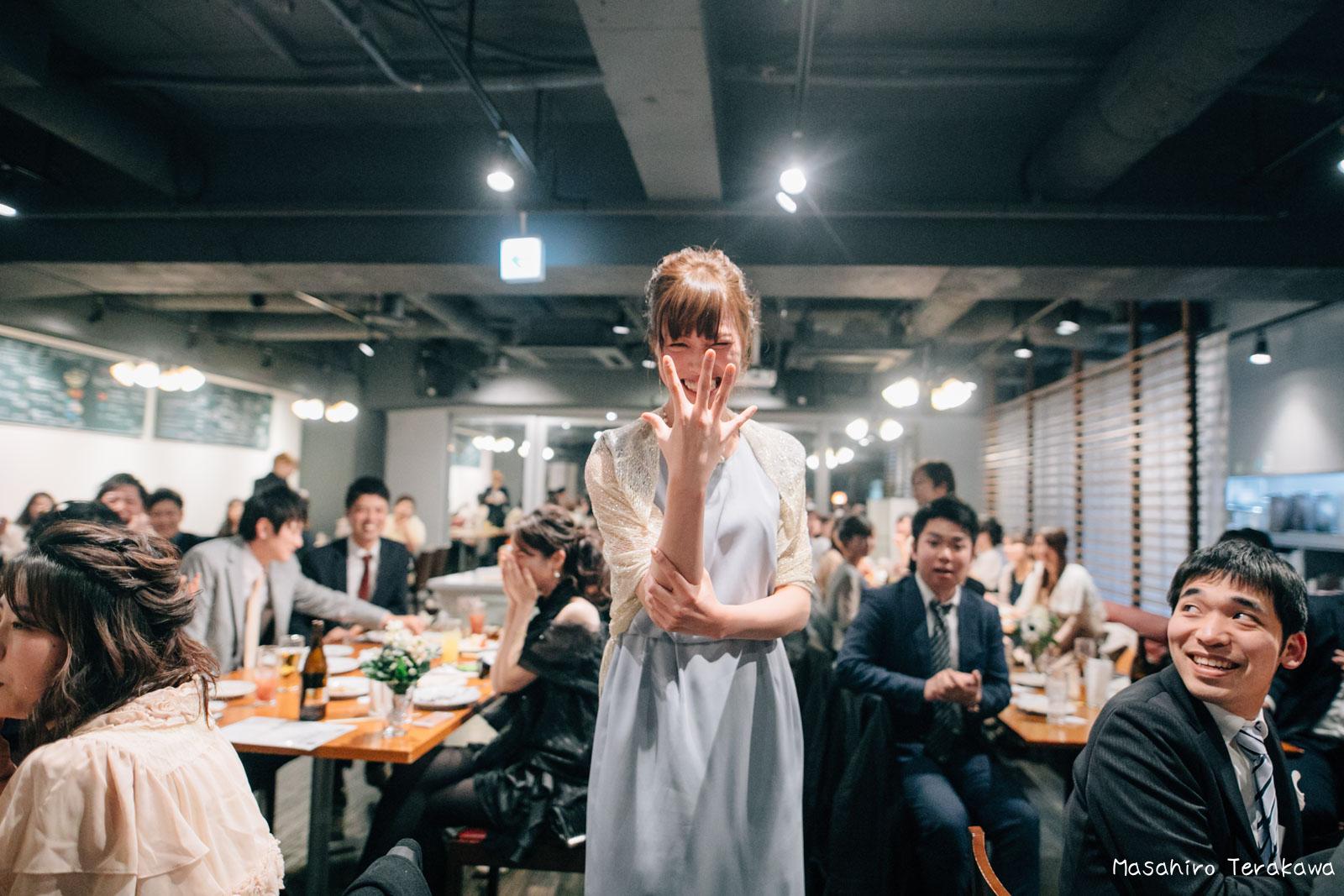 神戸で結婚式の二次会の写真撮影43