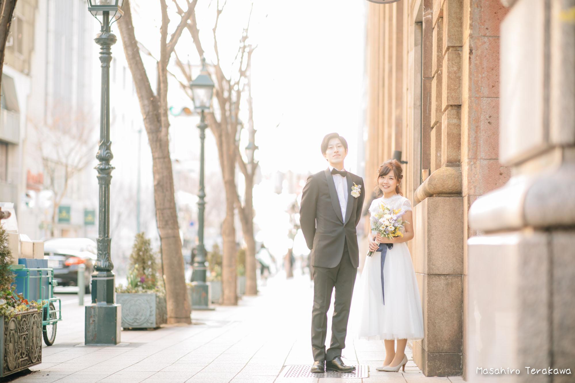 神戸(関西)結婚式の前撮り(ロケーションフォト)12