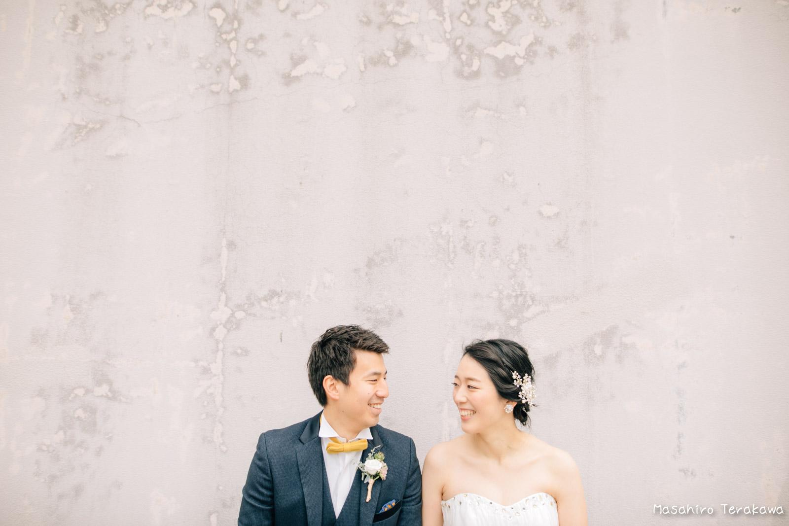 神戸の学校(母校)にて結婚式前撮り7