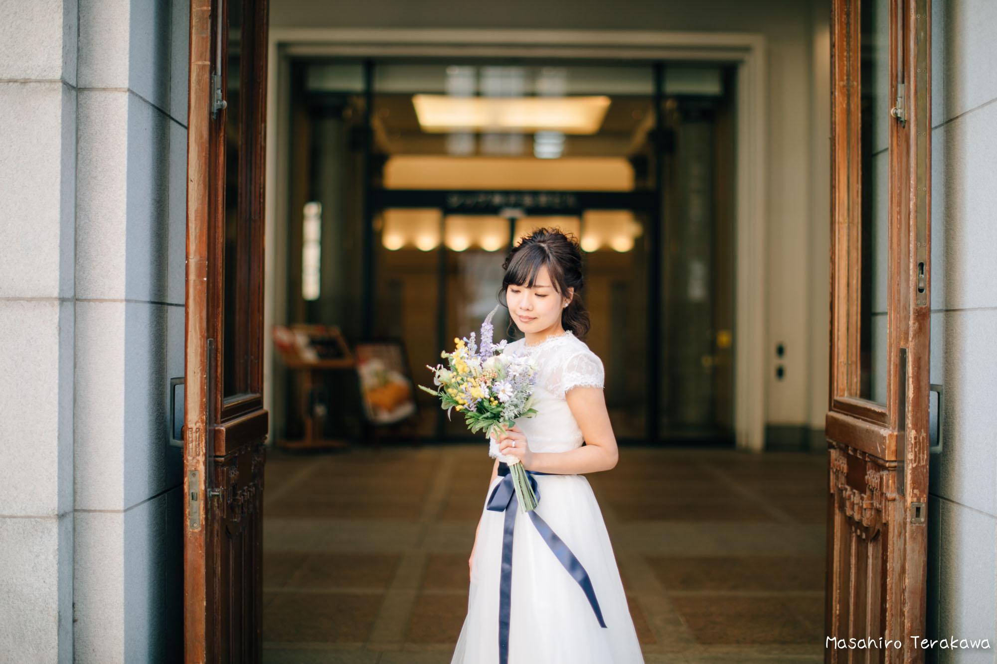神戸(関西)結婚式の前撮り(ロケーションフォト)8