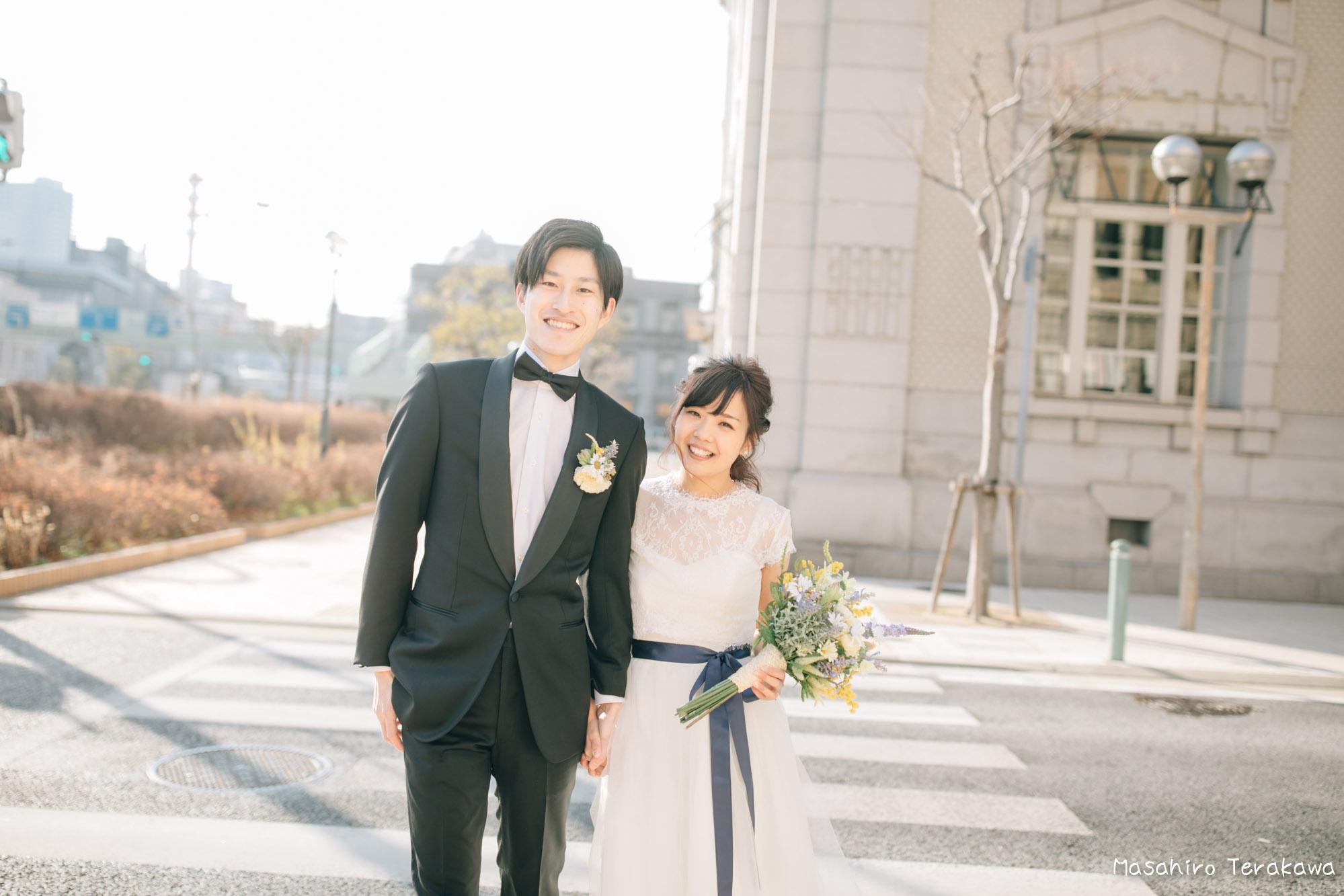 神戸(関西)結婚式の前撮り(ロケーションフォト)9