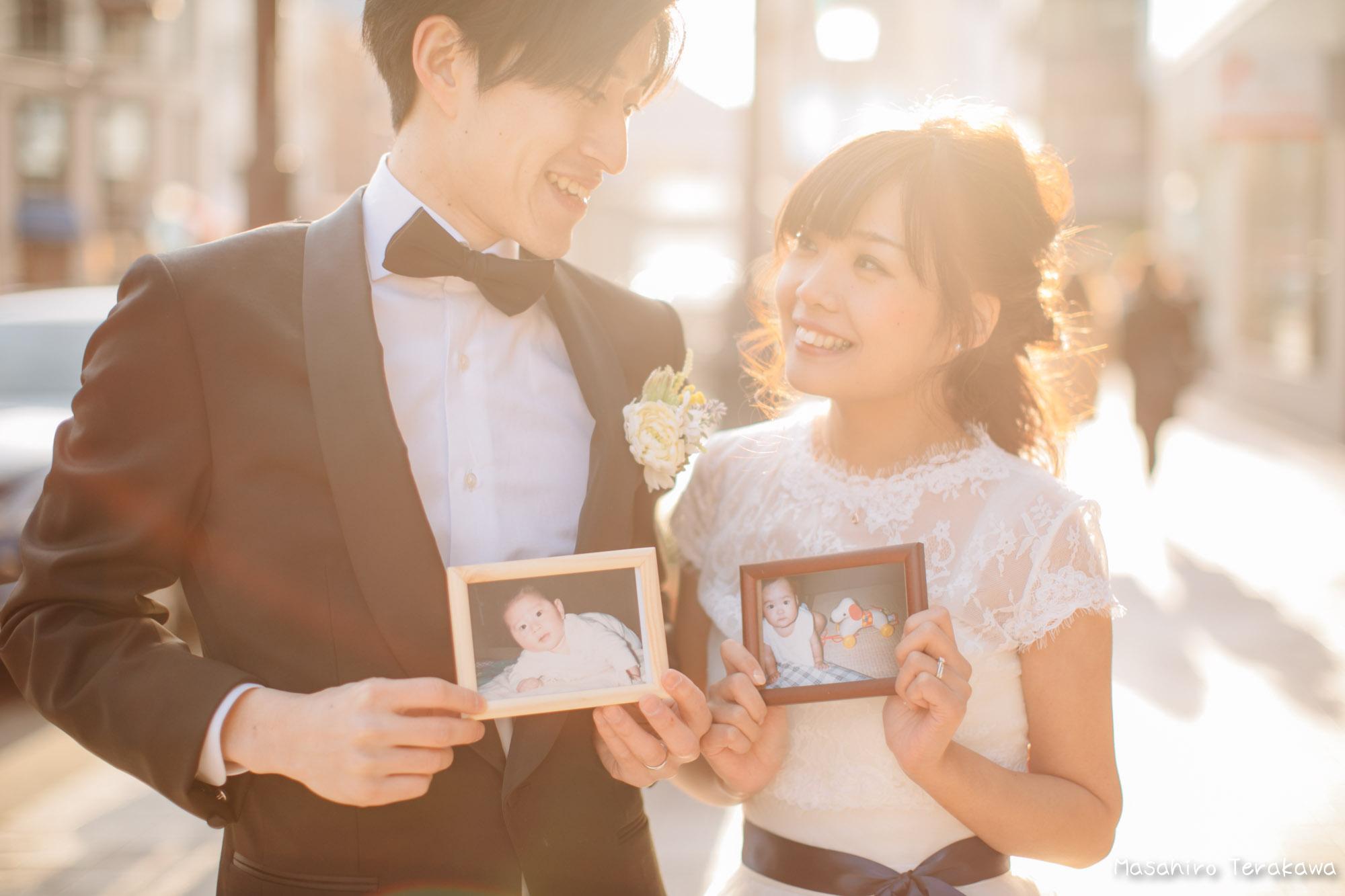 神戸(関西)結婚式の前撮り(ロケーションフォト)15