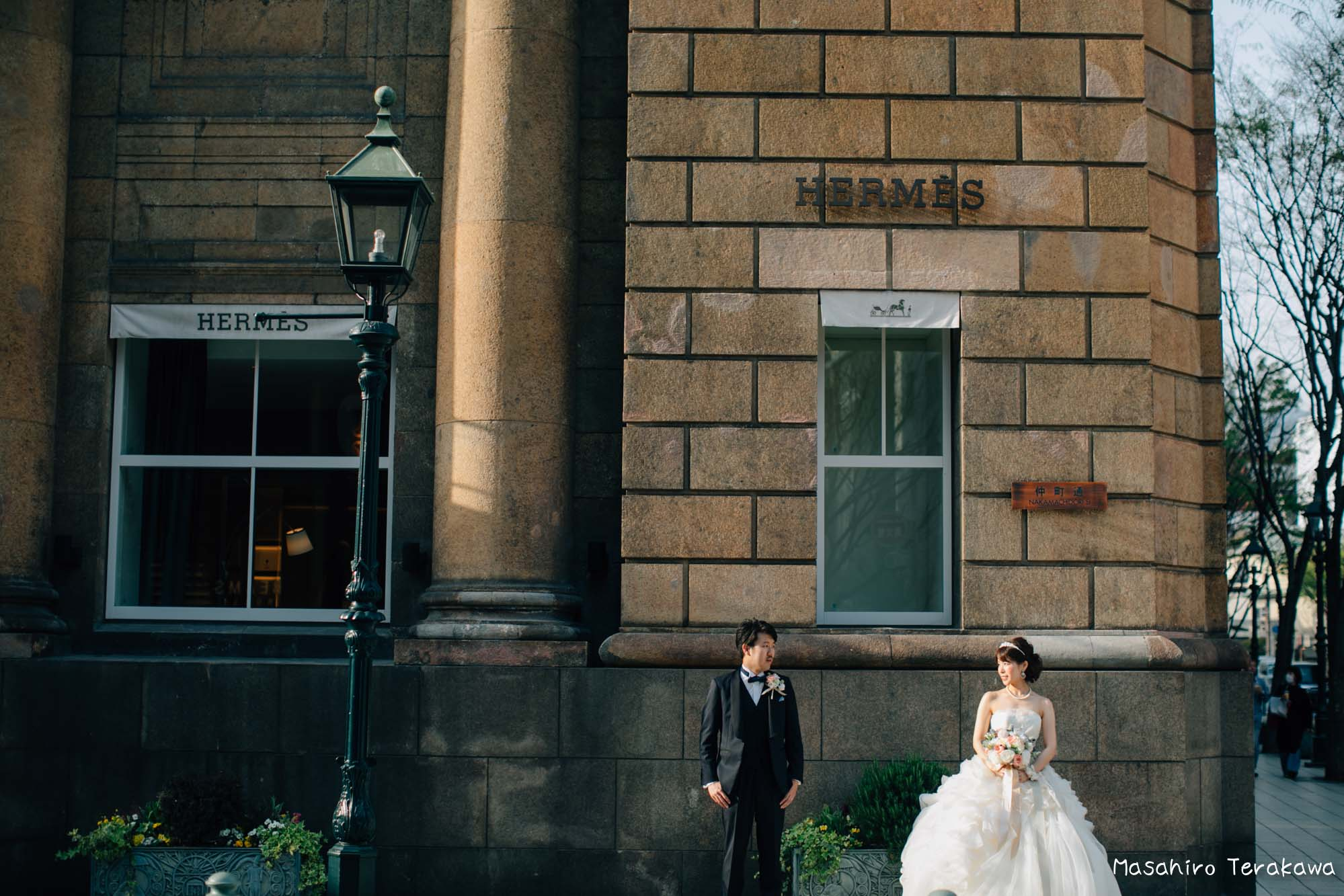 トリートドレッシングのウェディングドレスで結婚式前撮り11