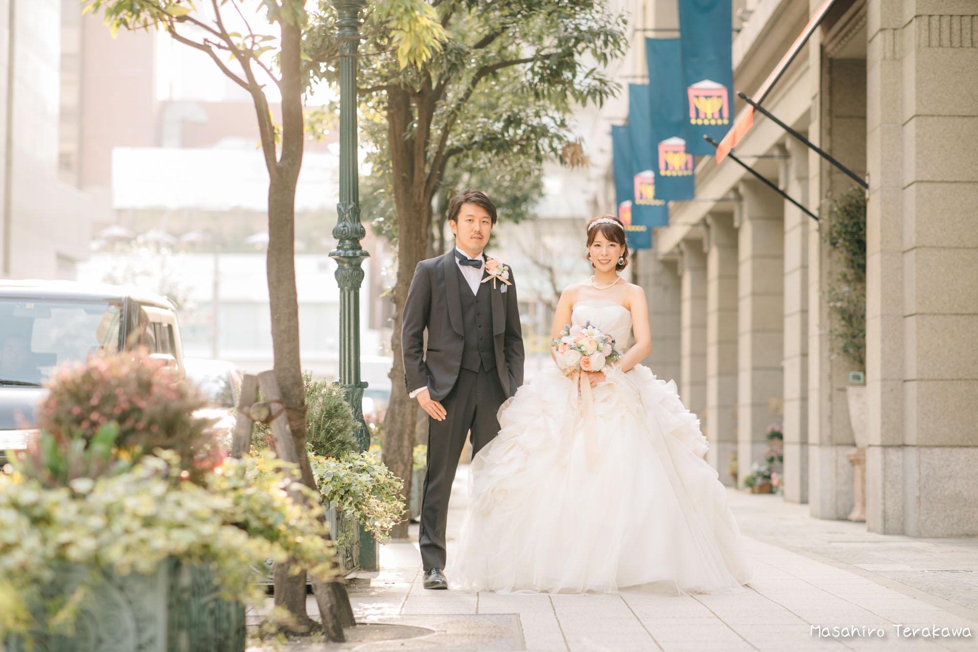 トリートドレッシングのウェディングドレスで結婚式前撮り10