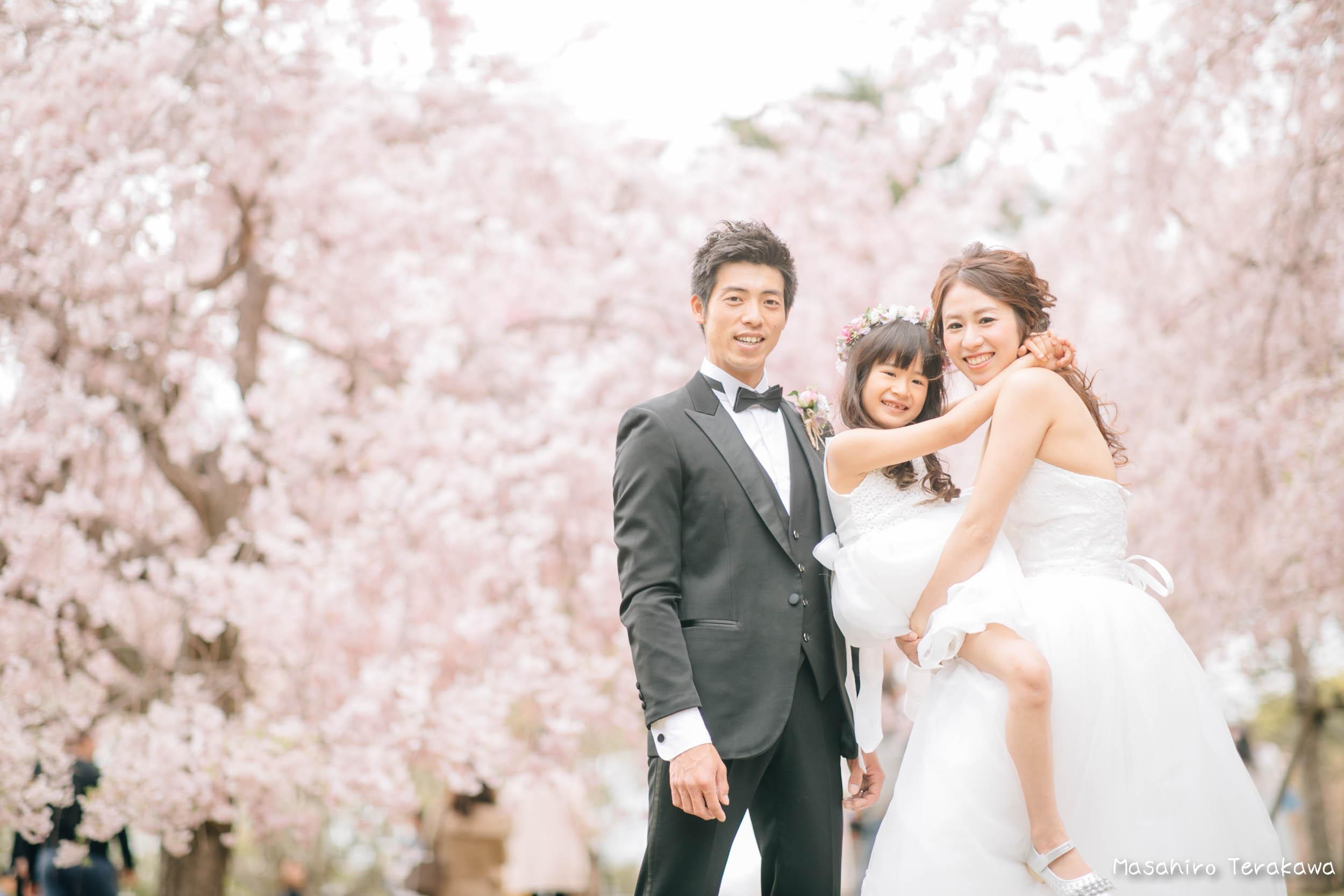 ご家族で結婚写真の前撮り5