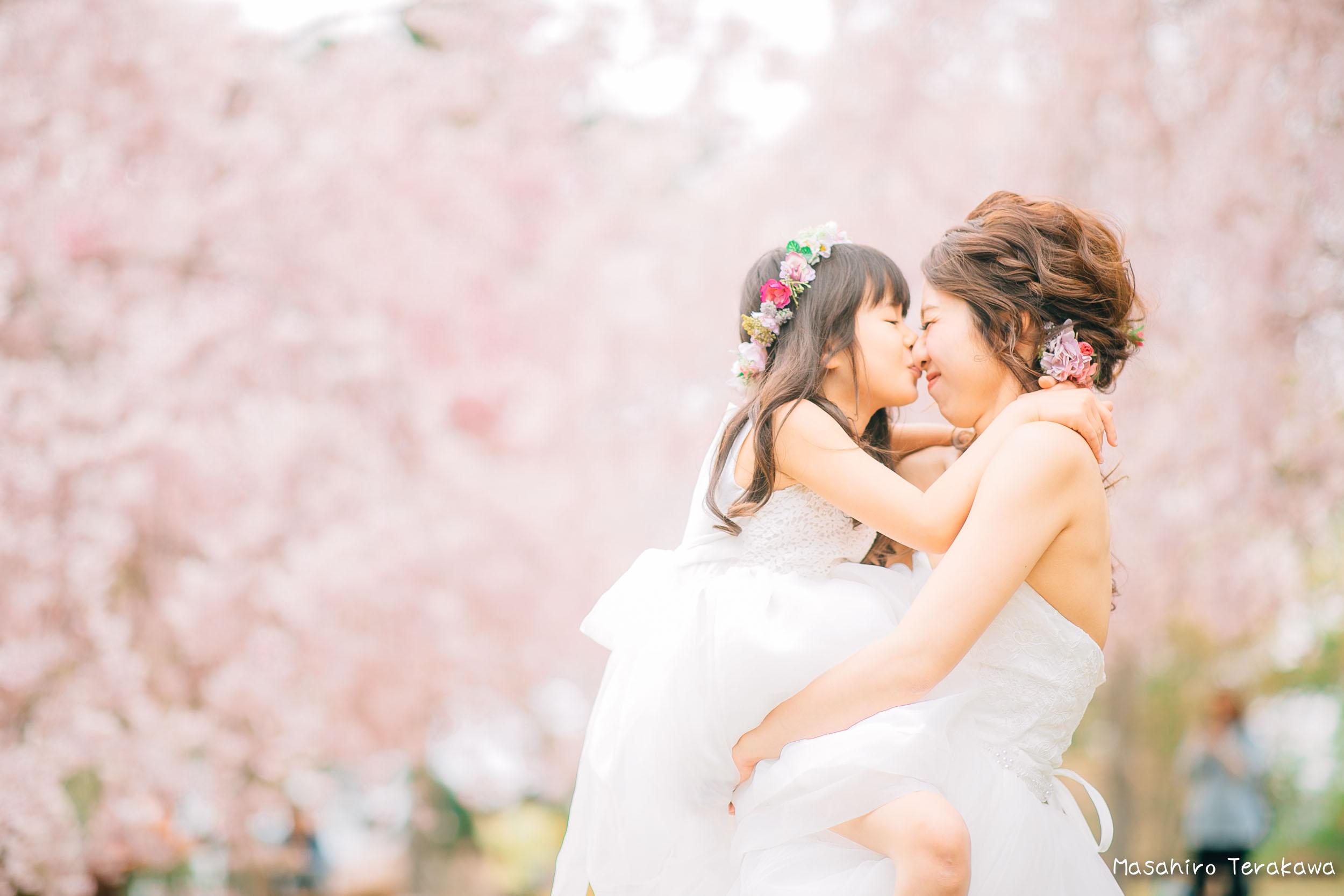 ご家族で結婚写真の前撮り6