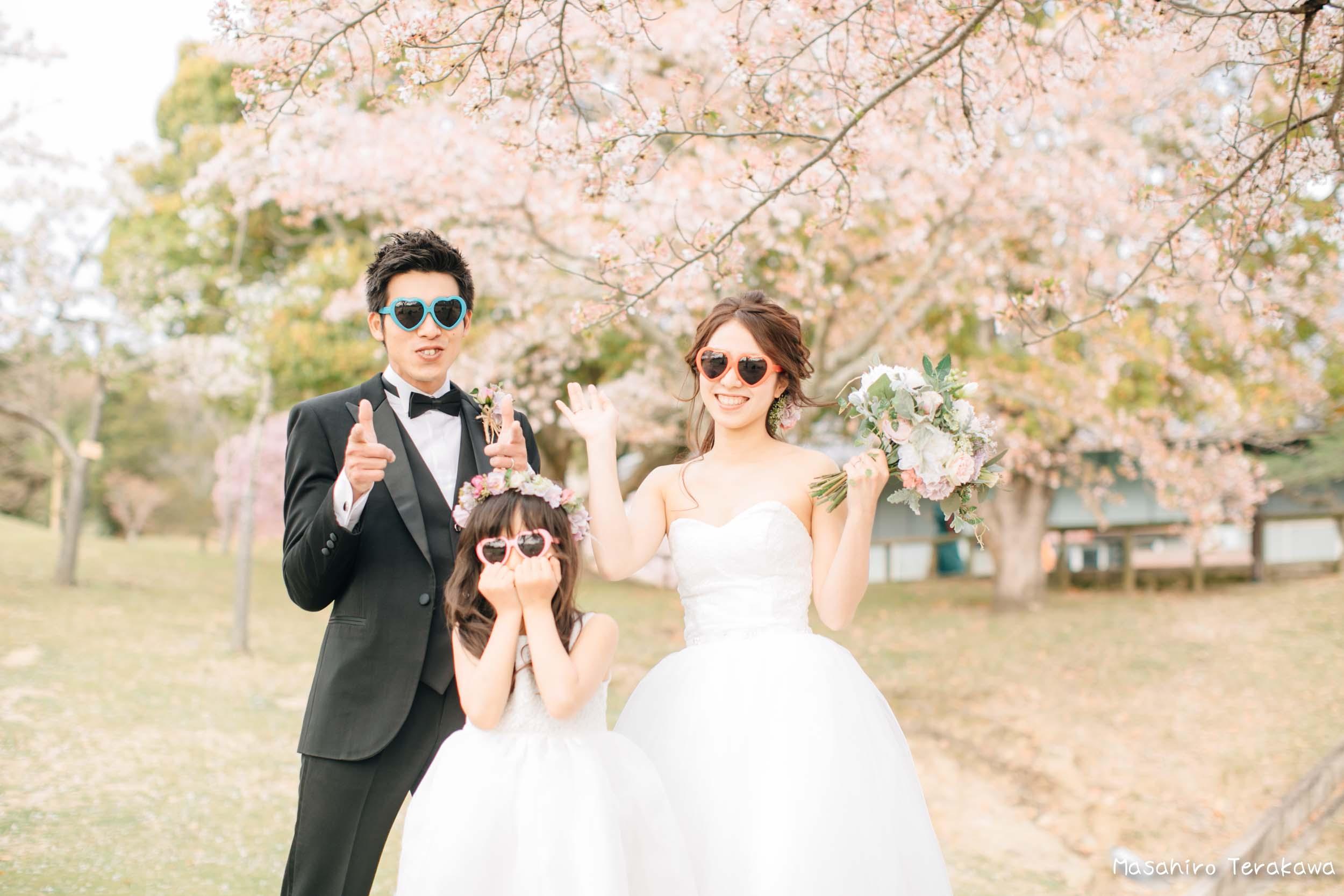 ご家族で結婚写真の前撮り4