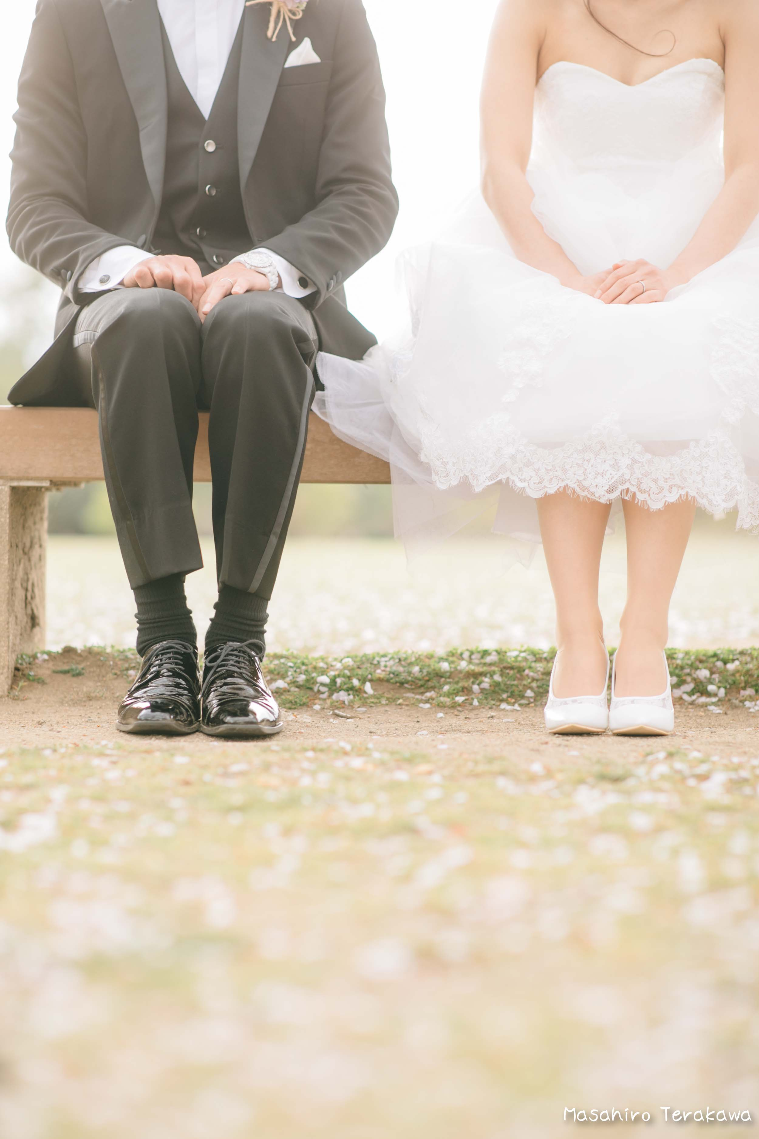 ご家族で結婚写真の前撮り8