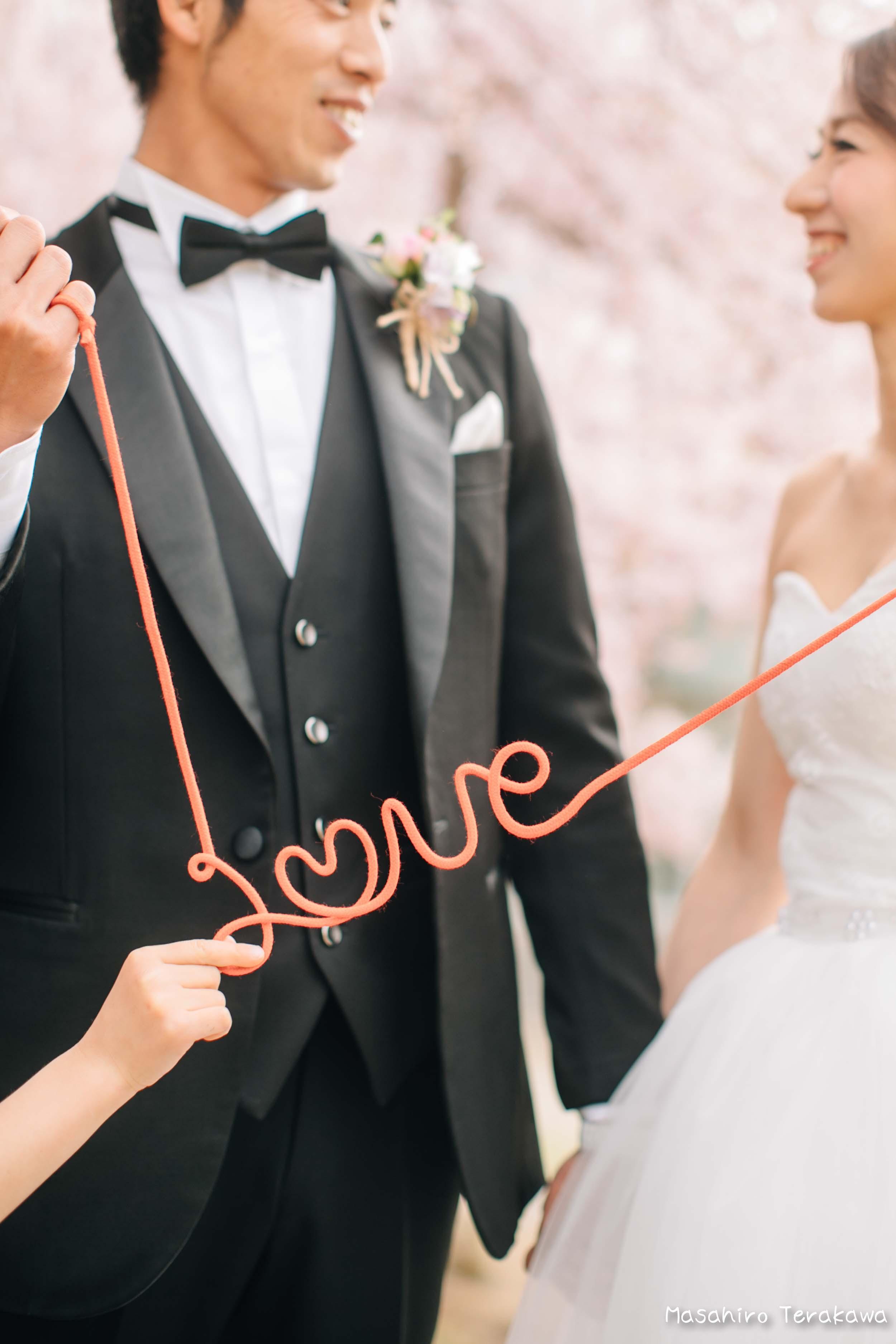 ご家族で結婚写真の前撮り9