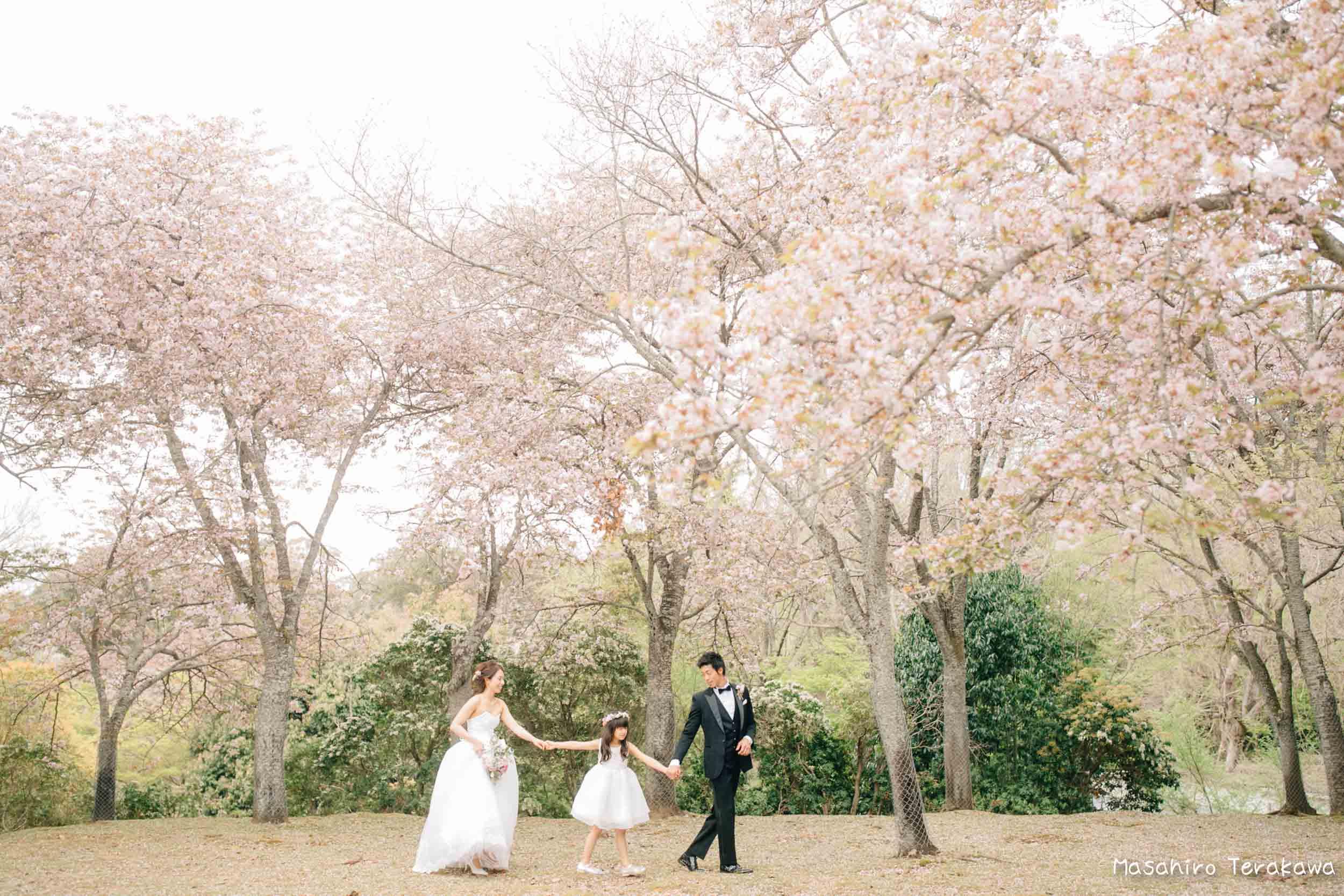 ご家族で結婚写真の前撮り3