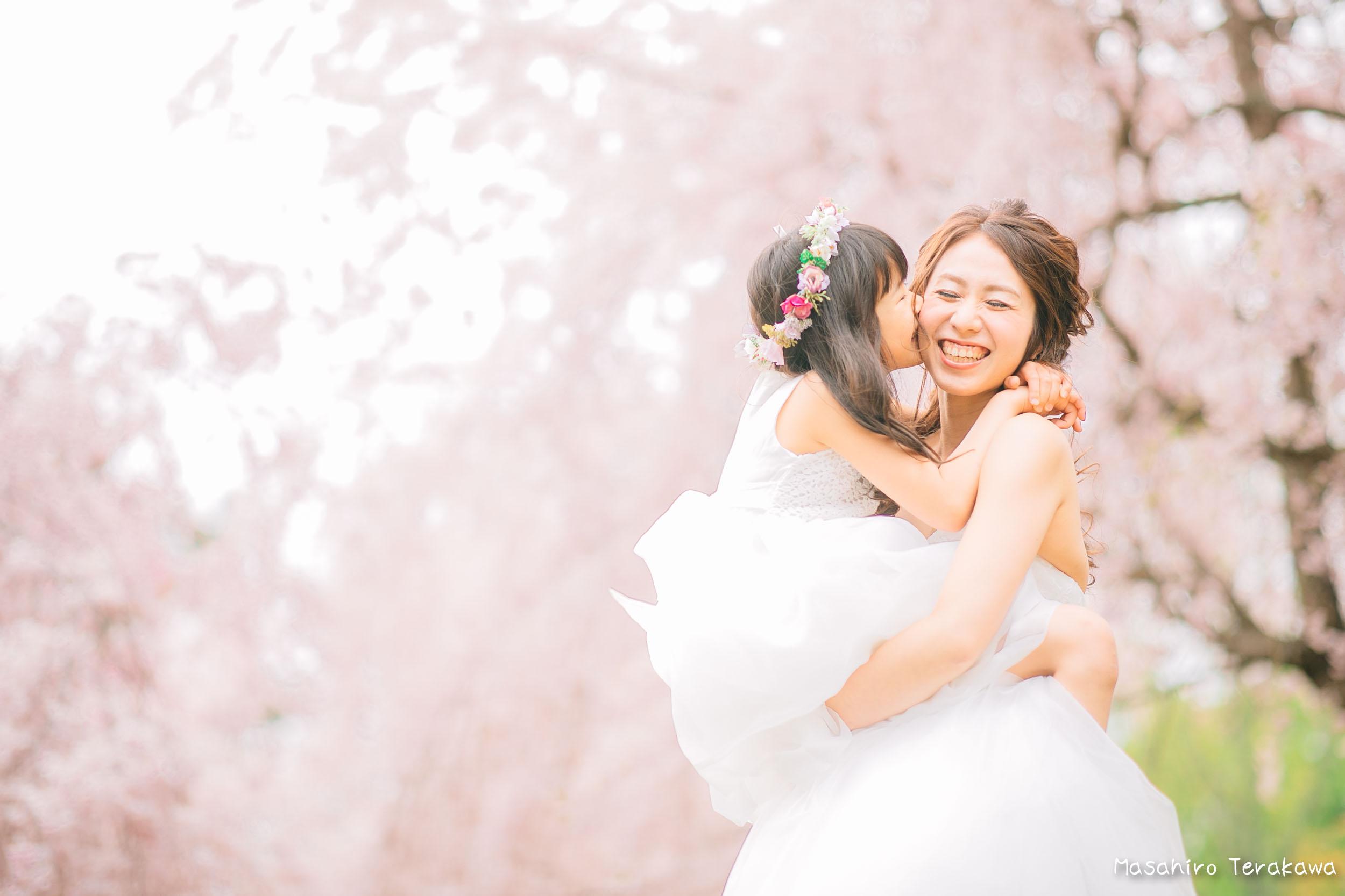 ご家族で結婚写真の前撮り1