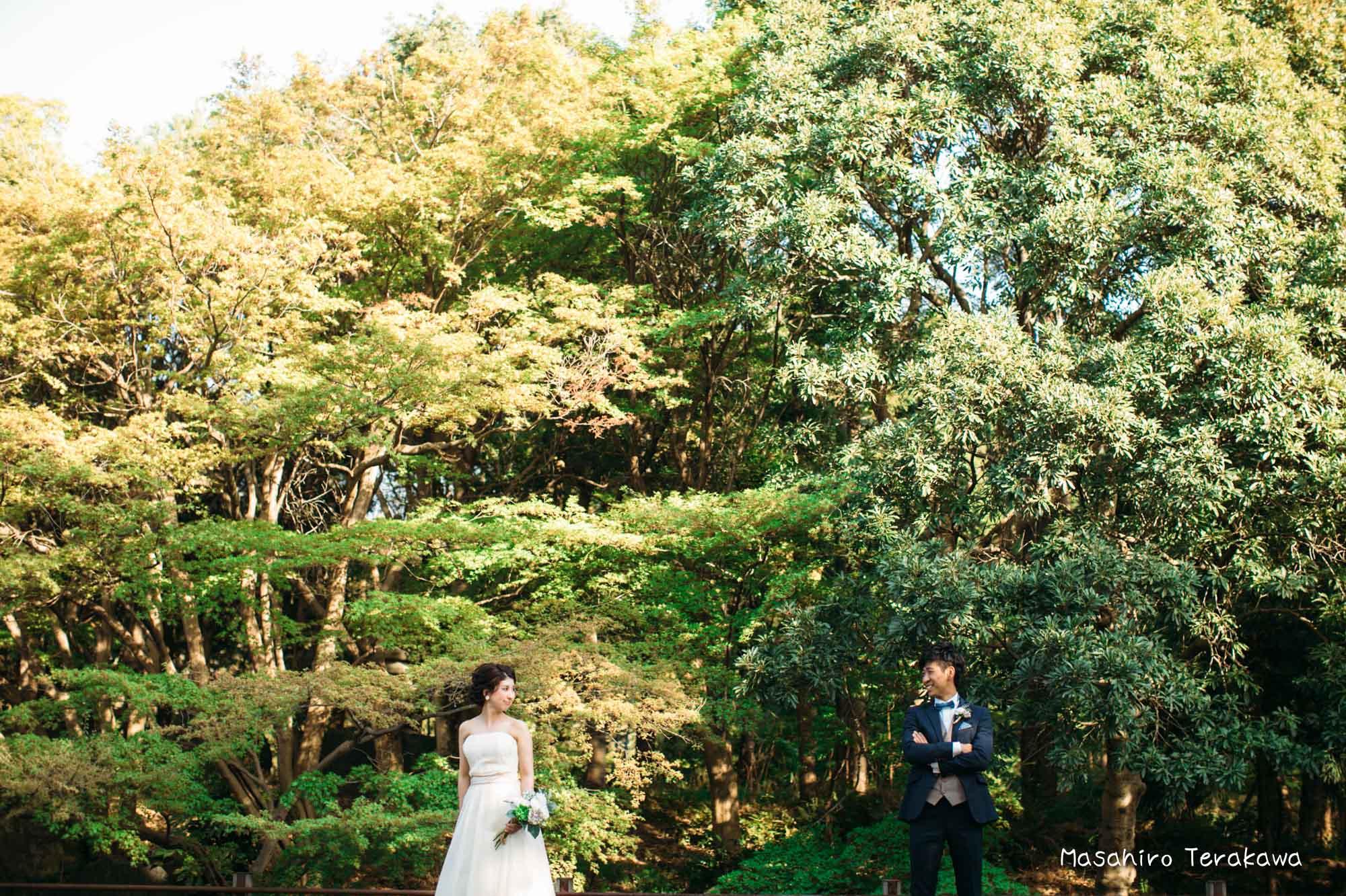 【大阪】鶴見緑地公園で結婚式の和装・洋装前撮り8