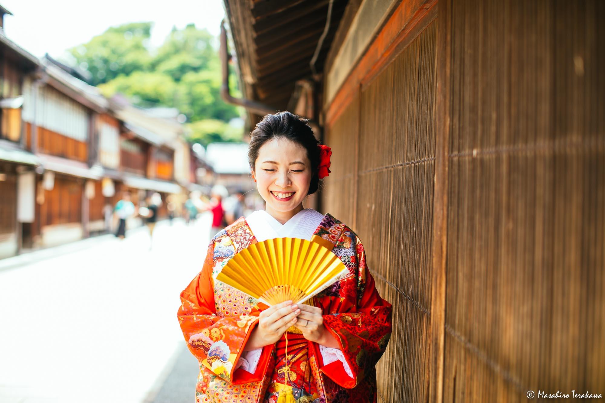 石川県金沢市で結婚式の和装前撮り写真撮影3