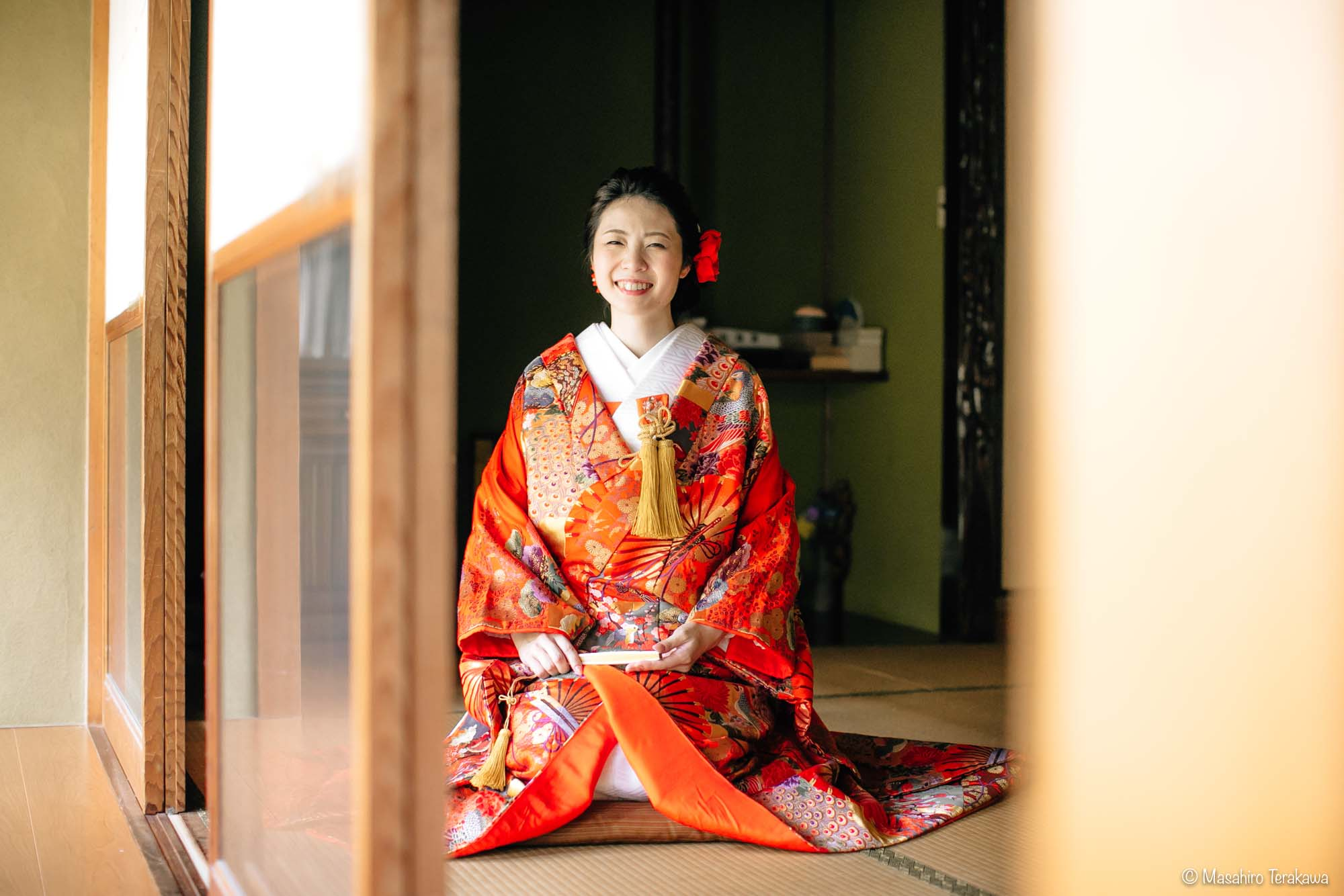 石川県金沢市で結婚式の和装前撮り写真撮影10
