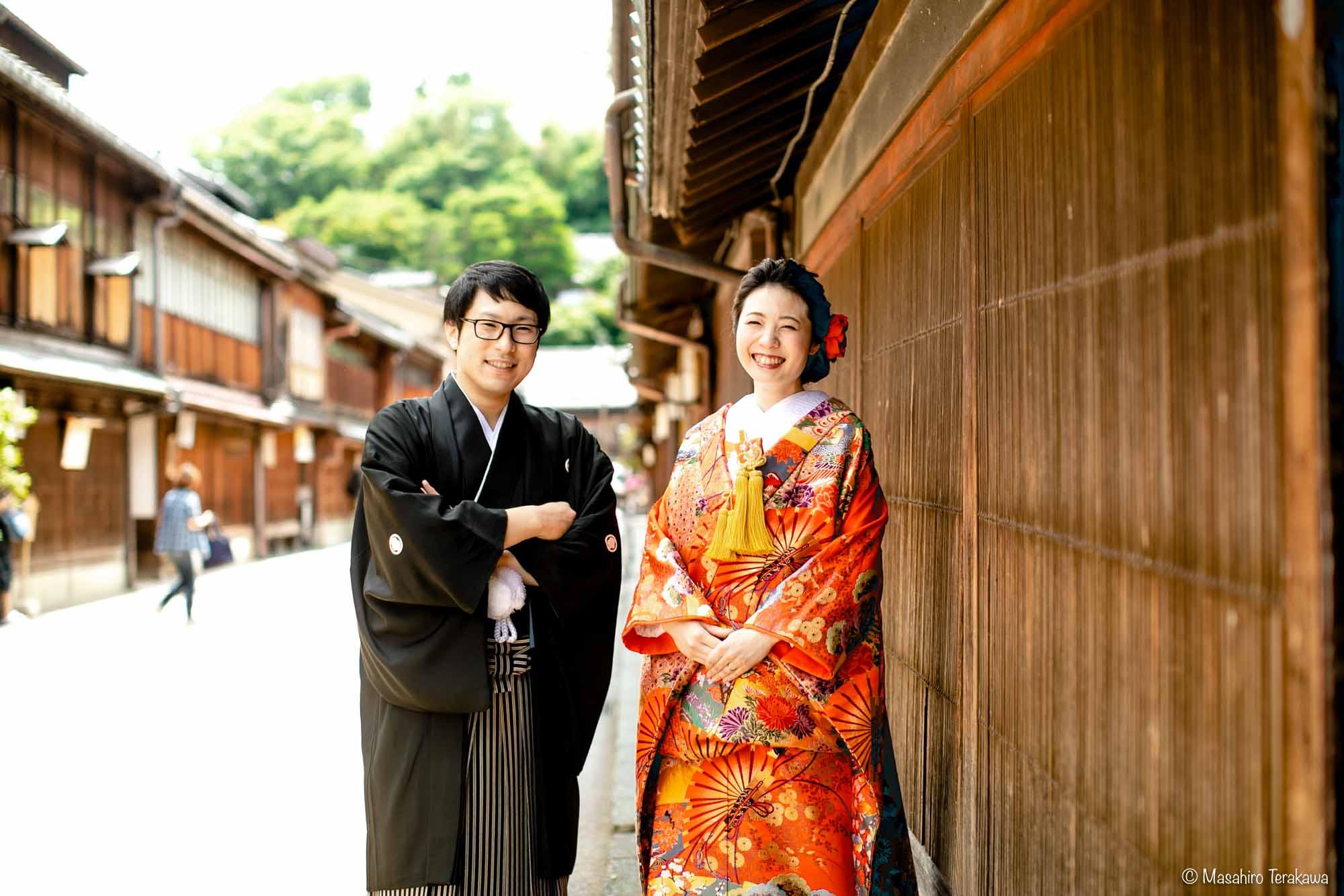 石川県金沢市で結婚式の和装前撮り写真撮影5