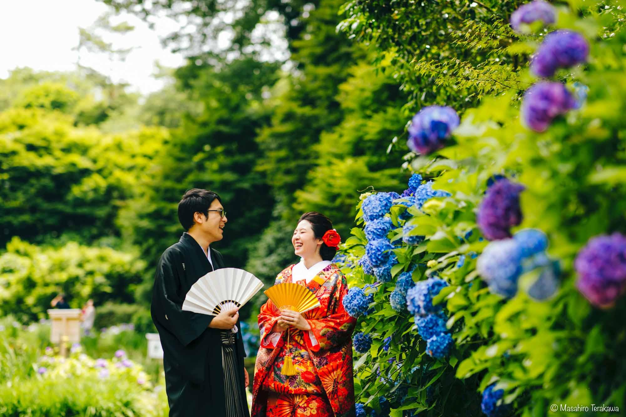 石川県金沢市で結婚式の和装前撮り写真撮影9