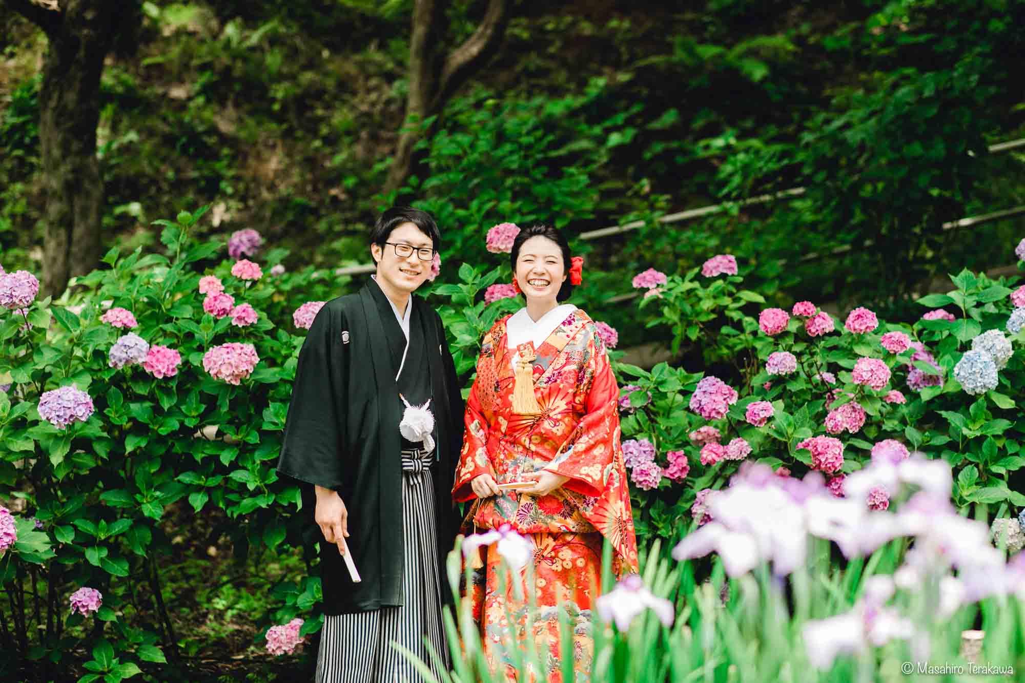 石川県金沢市で結婚式の和装前撮り写真撮影7