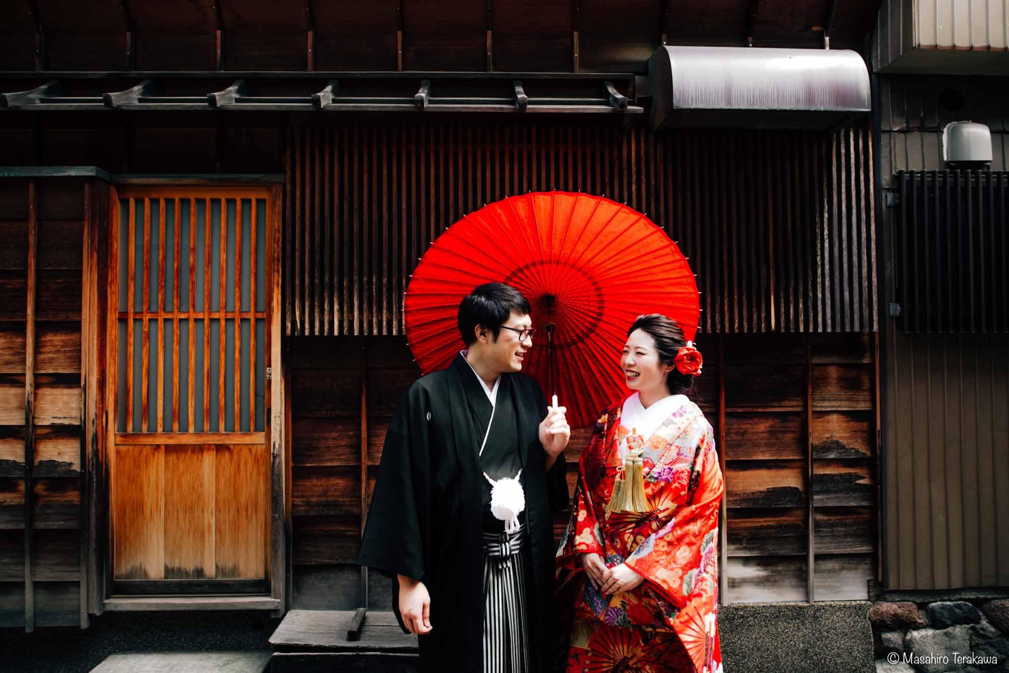 石川県金沢市で結婚式の和装前撮り写真撮影4