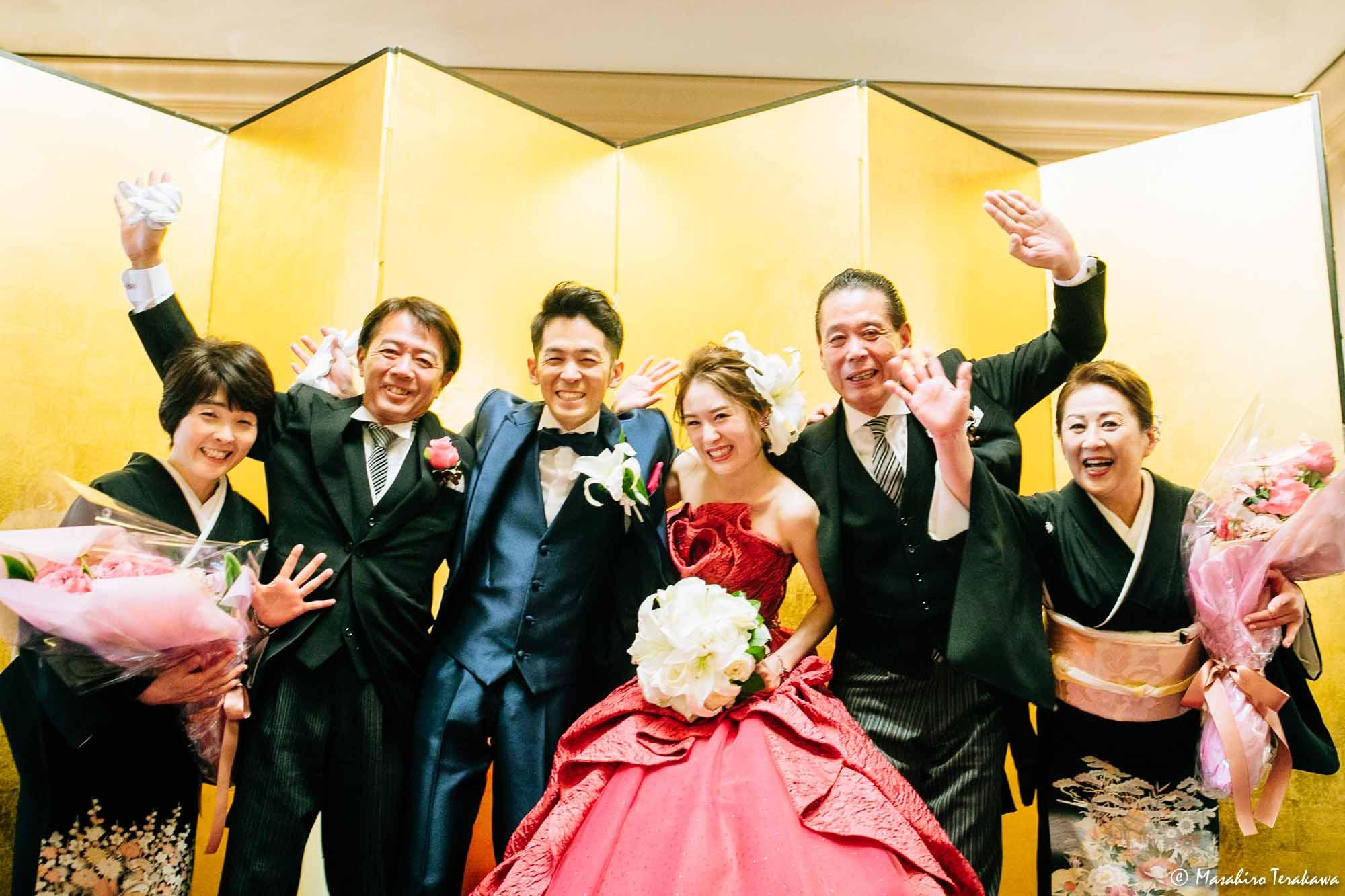 大阪のホテルで結婚式の写真撮影!