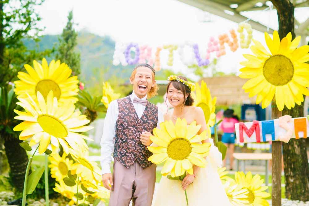 新郎新婦さまの結婚写真撮影を個別に対応